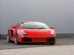 2007 IMSA Red Lamborghini Gallardo GTV