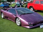 Purple Lamborghini Diablo SE30