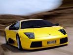 Yellow Murcielago Lamborghini