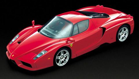 Ferrari Enzo front view