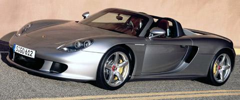 Porsche Carrera GT side view