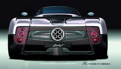 pagani zonda f modified vehicles pictures of modified custom cars car tuning styling photos. Black Bedroom Furniture Sets. Home Design Ideas