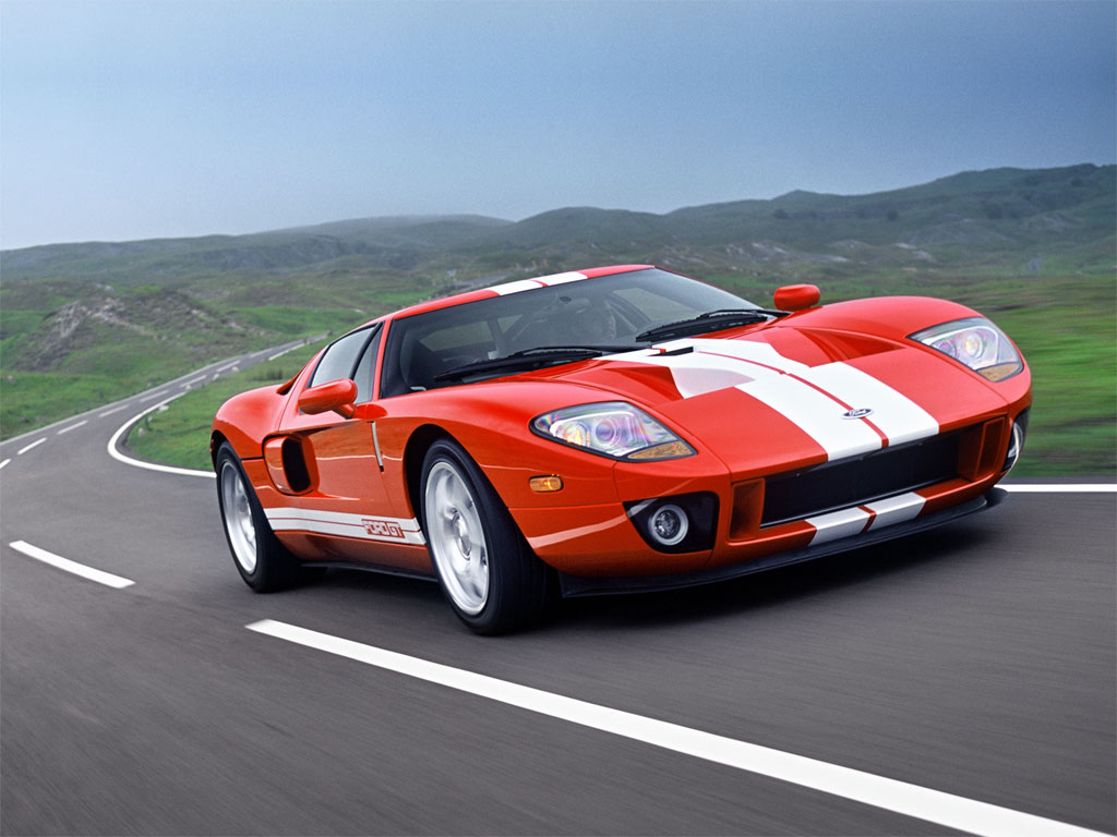 Ford Gt Exotic Car From The United States