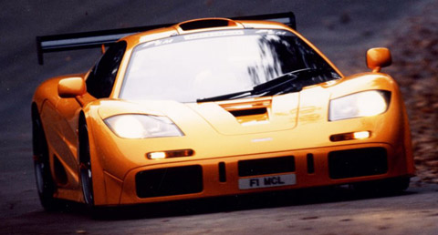 McLaren F1 LM driving