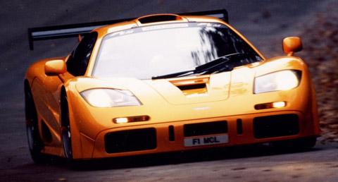 McLaren F1 LM driving