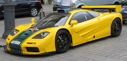 McLaren F1 GTR