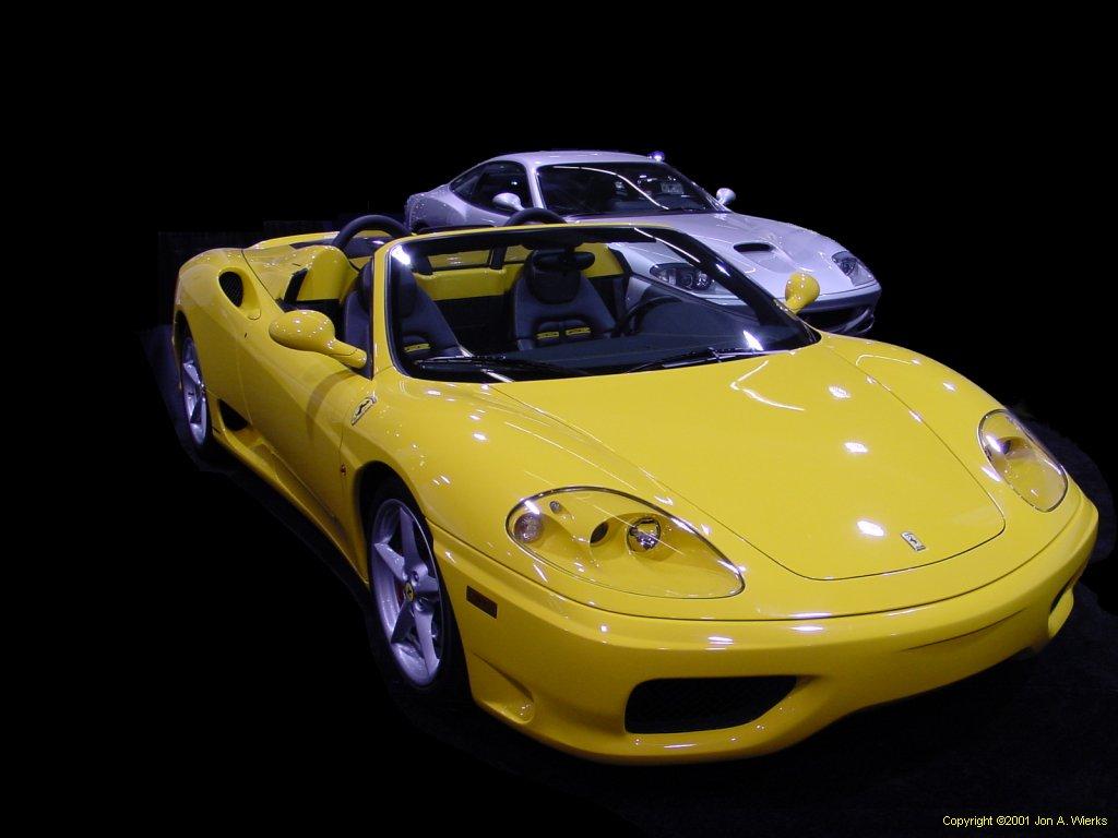 the Ferrari 360 was the name