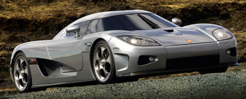 Koenigsegg CCX in Iceland