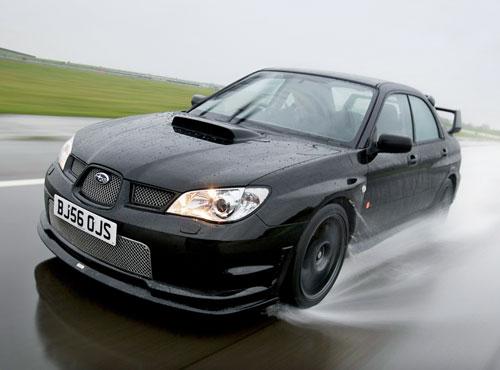 The Subaru 2007 Impreza RB320