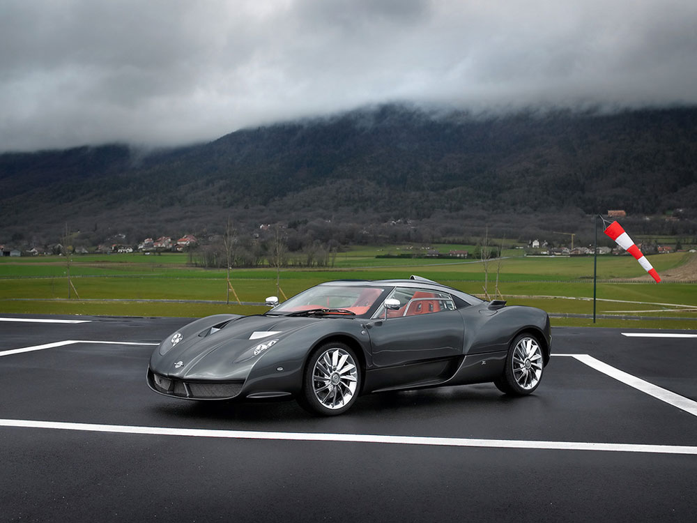 Spyker C12 Zagato Revi...