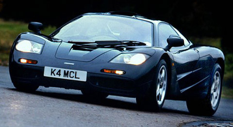 McLaren F1 fastest cars in the world