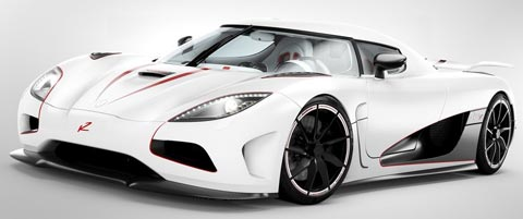 Koenigsegg Agera R fastest cars in the world