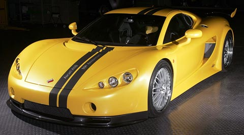 Ascari A10 fastest cars in the world