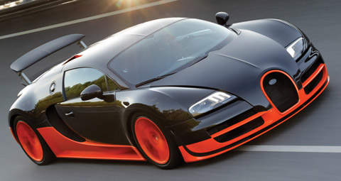 bugatti veyron super sports fastest cars in the world