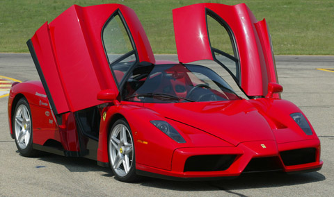 ferrari-enzo-doors-open-front-view-thumb