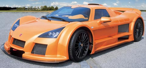 Gumpert Apollo fastest cars in the world