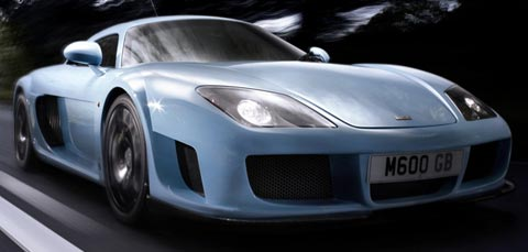 Noble M600 fastest cars in the world