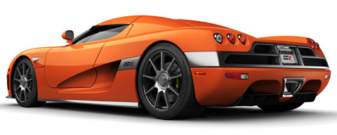 Koenigsegg CCX fastest cars in the world