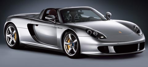 porsche carrera gt rank 10 fastest car in the world