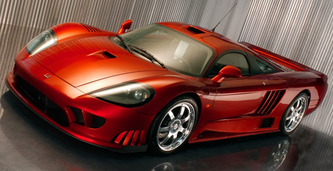 Saleen S7 Twin-Turbo fastest cars in the world