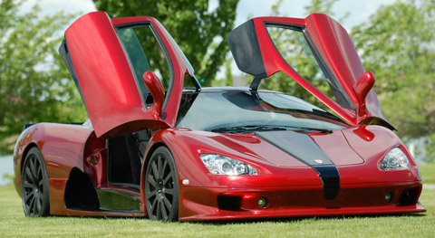SSC Ultimate Aero fastest cars in the world