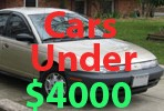 Used Cars Under 4000 Dollars
