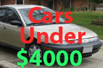 Used Cars Under 4000 Dollars For Sale A Buy Cheap Car Less Than 4000