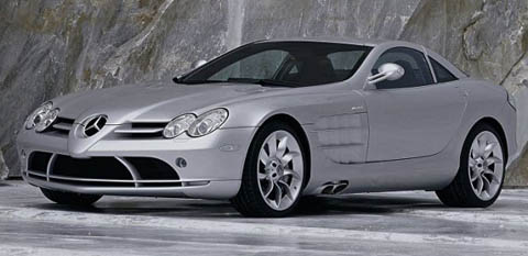 Mercedes SLR Mclaren 7th most expensive car