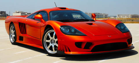 Saleen S7 Twin Turbo 5th most expensive car in the world