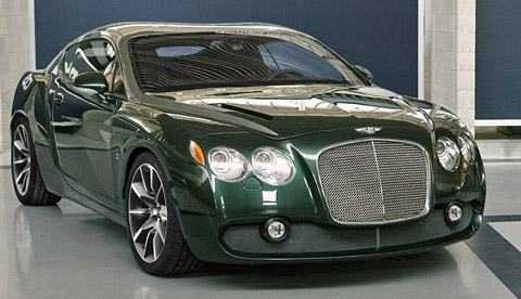 bentley continental gtz #3