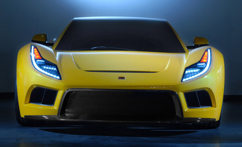 saleen s5s raptor concept center view