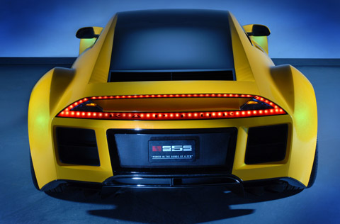 saleen s5s raptor concept back view