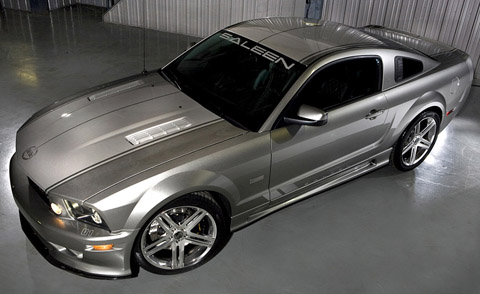 saleen mustangs s302e sterling edition