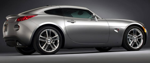 pontiac solstice gxp coupe side view