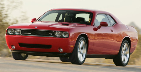dodge challenger rt 2009 main view