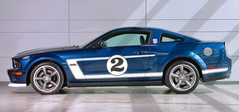 saleen mustang gurney signature edition side view