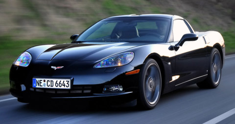 2008 Chevrolet Corvette Competition
