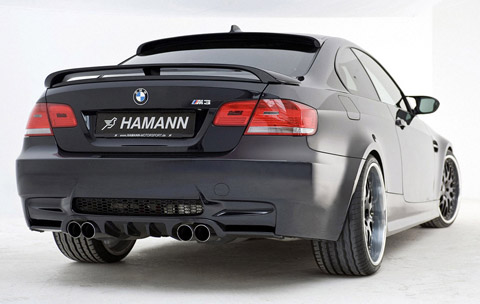 Hamann BMW M3 back view