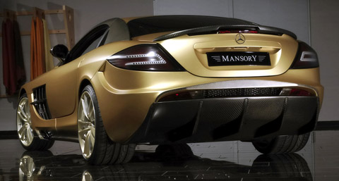 Mansory McLaren SLR Renovatio back view