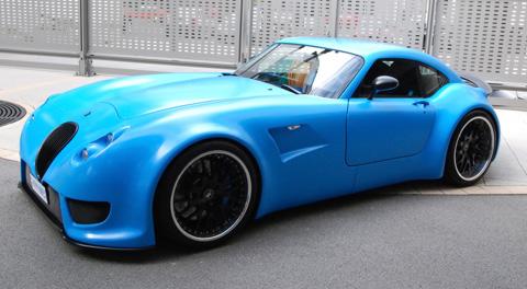 2008 Wiesmann GT MF5 blue