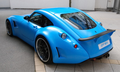 Wiesmann GT MF5 back view