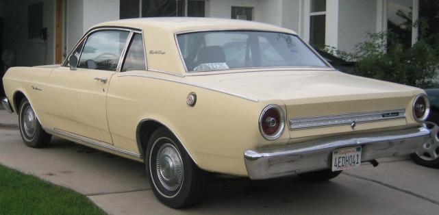 1966 Ford Falcon 4 Door