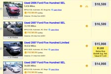 Used Ford Five Hundred For Sale By Owner Buy Cheap Pre