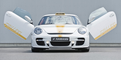 Hamann Porsche 911 Turbo Stallion front view
