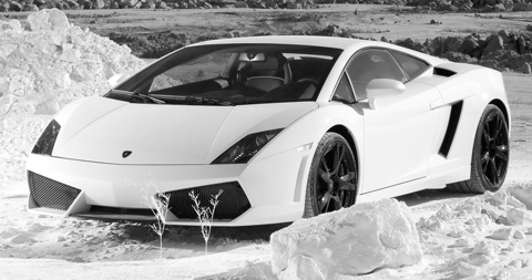 lamborghini gallardo lp560-4 side view