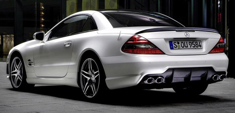 Mercedes Benz SL 63 AMG Edition IWC back view