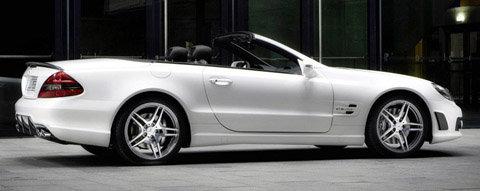 Mercedes Benz SL 63 AMG Edition IWC side view