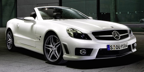 Mercedes Benz SL 63 AMG Edition IWC