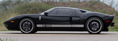 Hennessey GT1000 Twin Turbo Side view