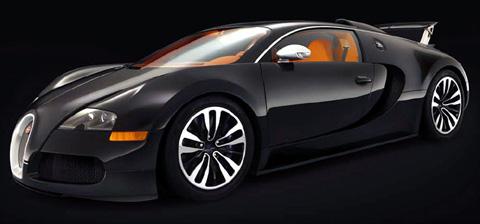 2008 Bugatti 16.4 Veyron Sang Noir